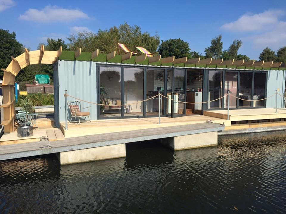 George clarke 39 s amazing spaces floating house designed by max mcmurdo cargotecture - Amazing shipping container homes ...