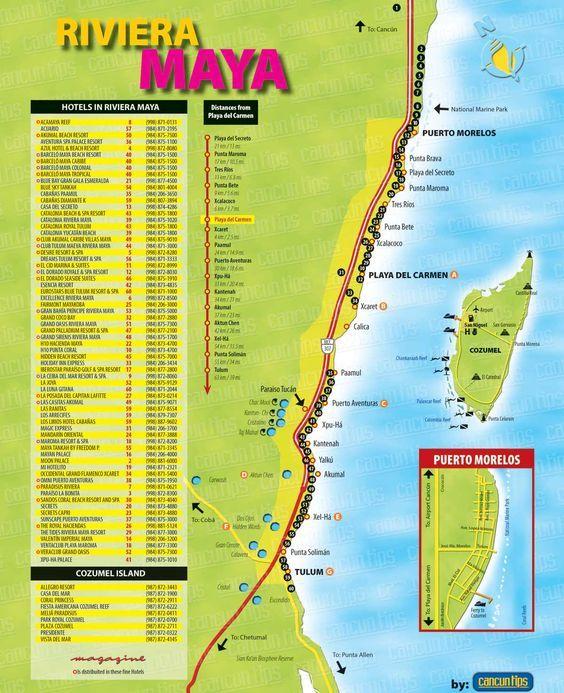 Valentin Imperial Riviera Maya Resort Map   ... hotel on the ...
