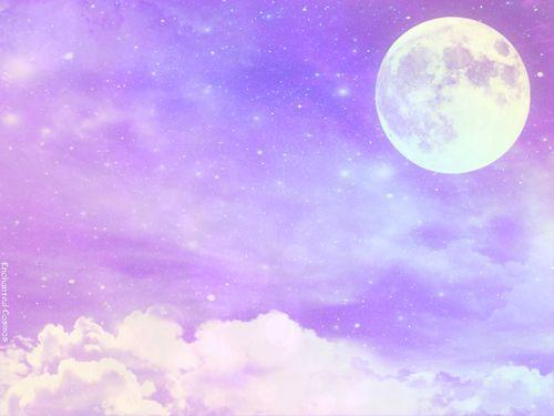 Pin By Bianca W On Backgrounds Moon Kawaii Wallpaper Sky