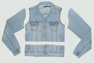 """Lord Skarr Oficial: DIY: Tutorial de como fazer um """"Colete Jeans"""""""