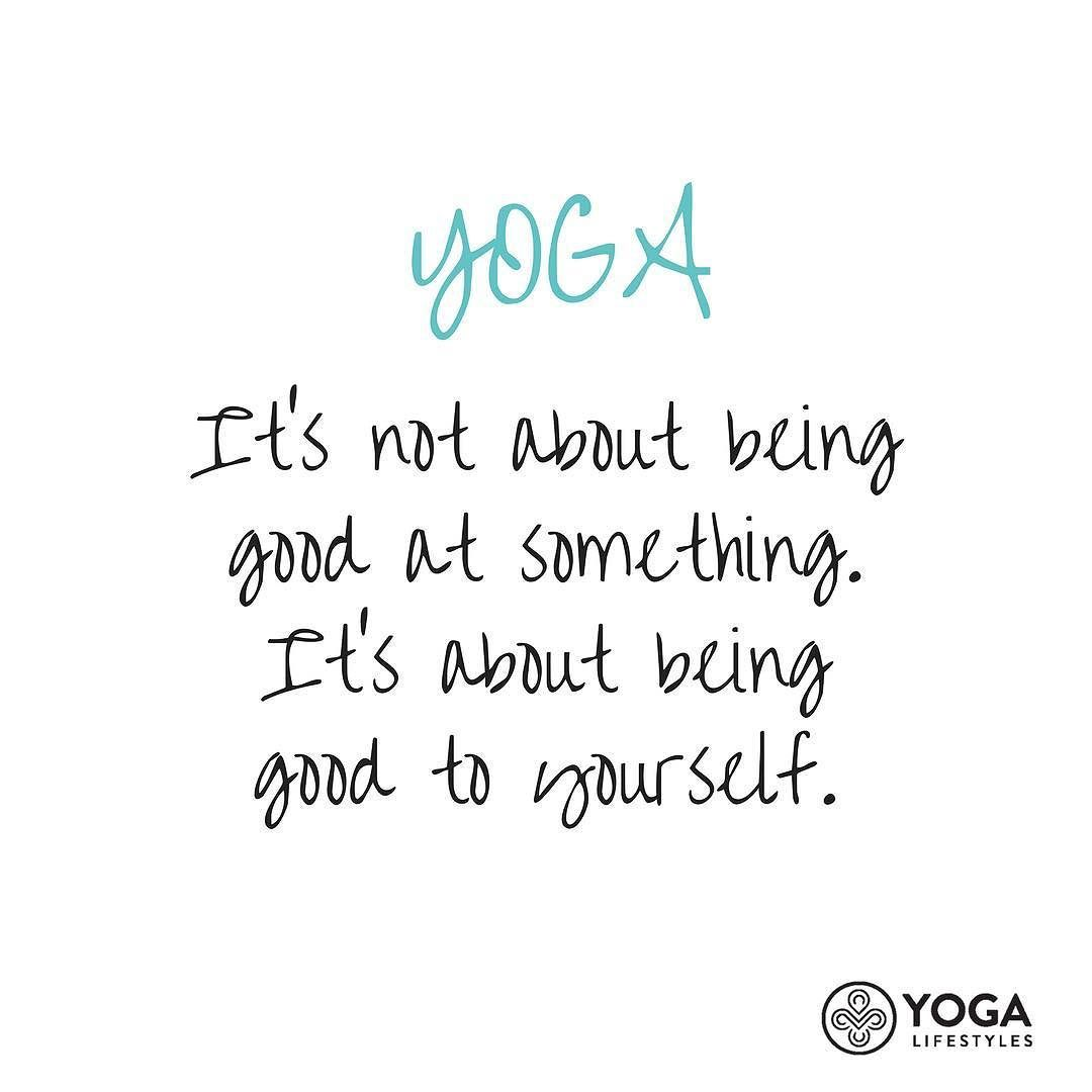 """Yoga Lifestyles on Instagram: """"Be kind with yourself. Remember that! 😉"""""""