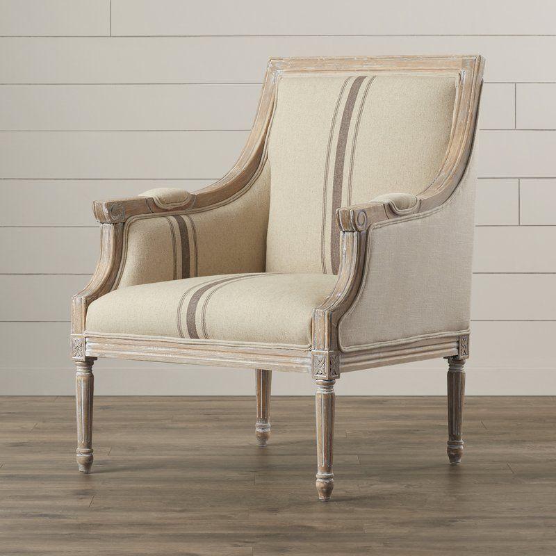 Lyster Armchair Farmhouse accent chair, Armchair, French