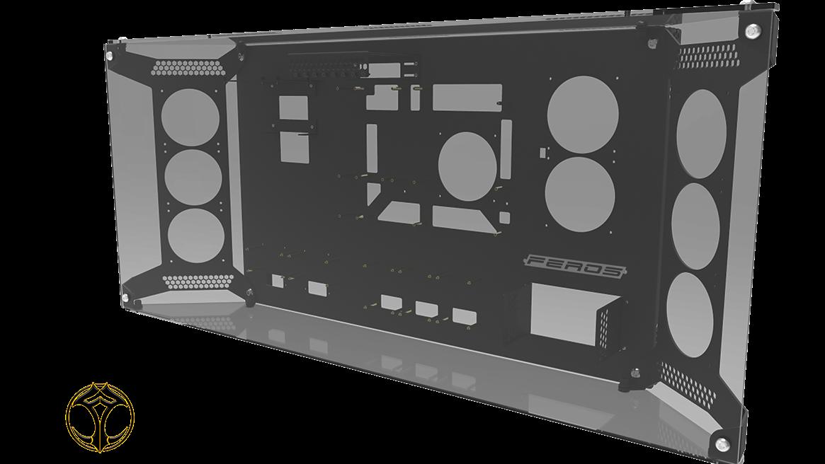 Feros Vm Rigid Wall Mounted Computer Cases