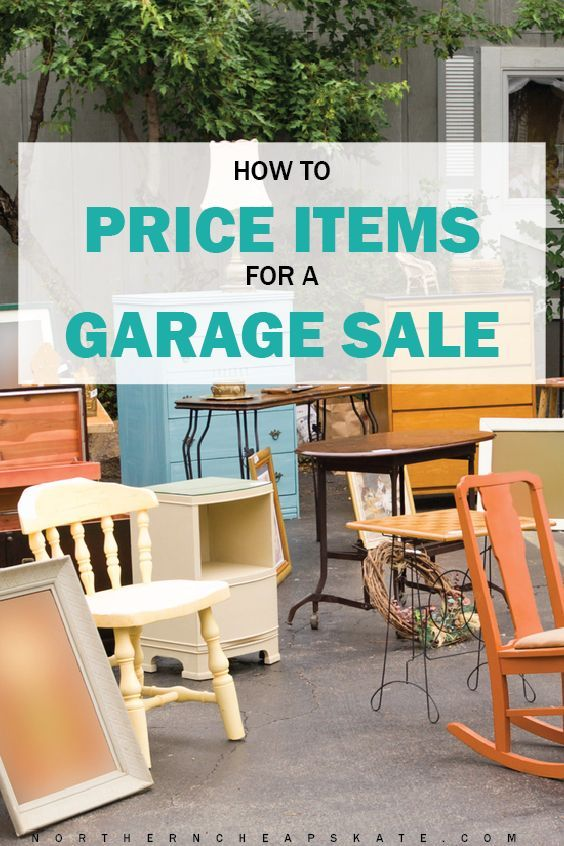 how to price items for a garage sale garage sale organization