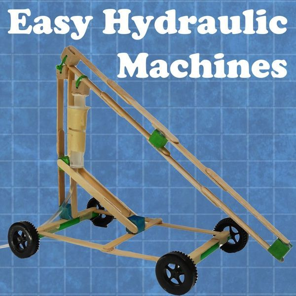 Hands on engineering stem projects for kids and students pinterest easy hydraulic machines style solutioingenieria Images