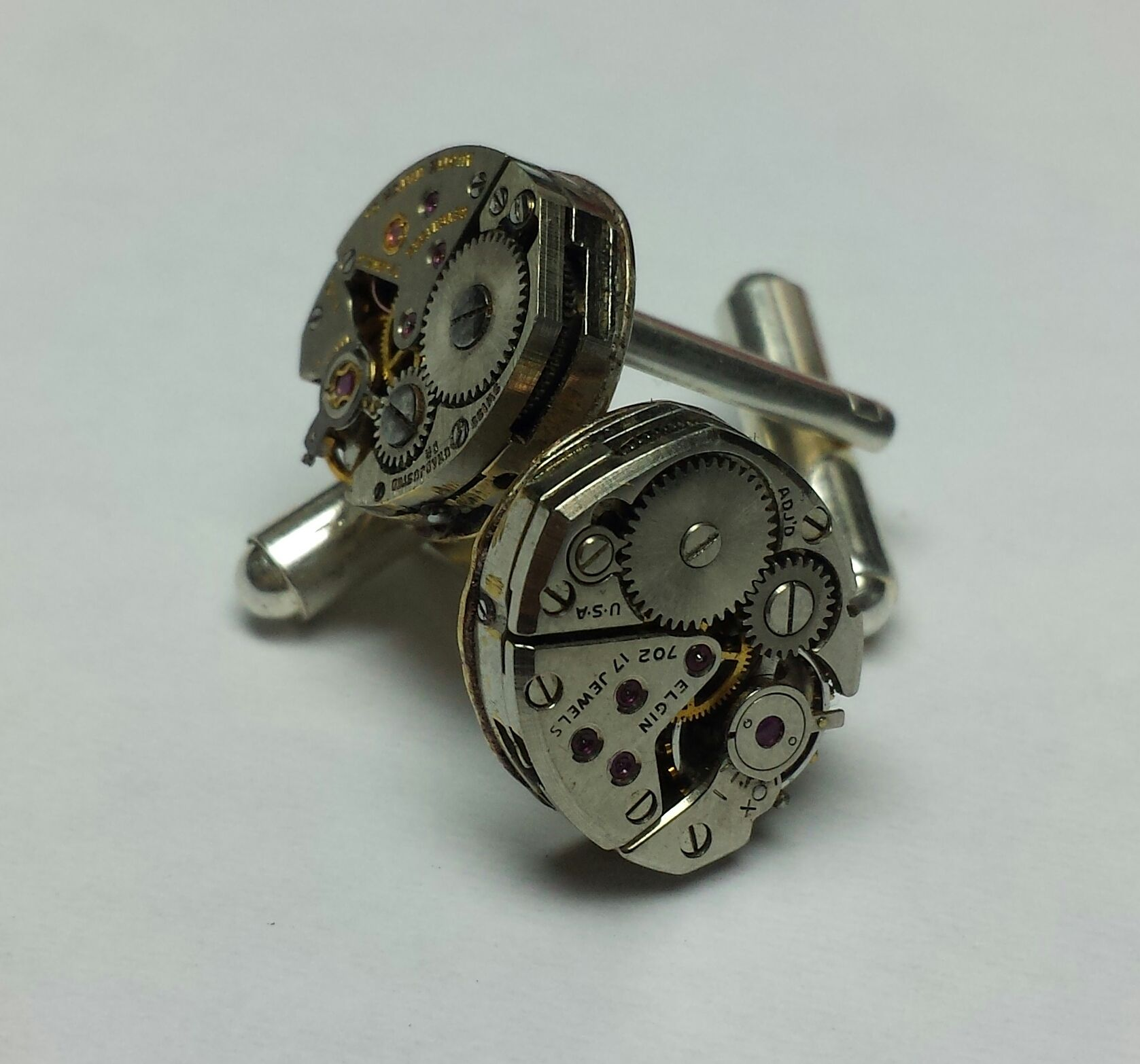 Custom Designed Cuff Links @ Skatell's Manufacturing Jewelers  Mt. Pleasant, SC  843-849-8488  Email me:  kathryn@skatells.com