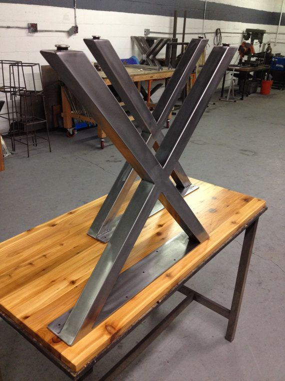 Tablelegs.com Promo Code Part - 18: X Metal Table Legs Brushed Nickle Finish 2 x 2 by TheLegShoppe