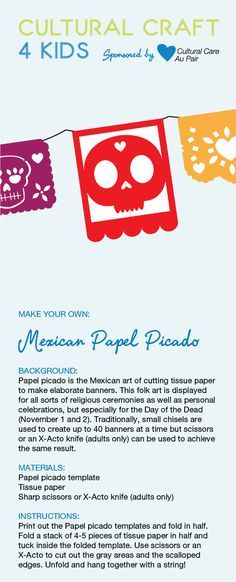 This is a great craft for older kids to try in celebration of All ...