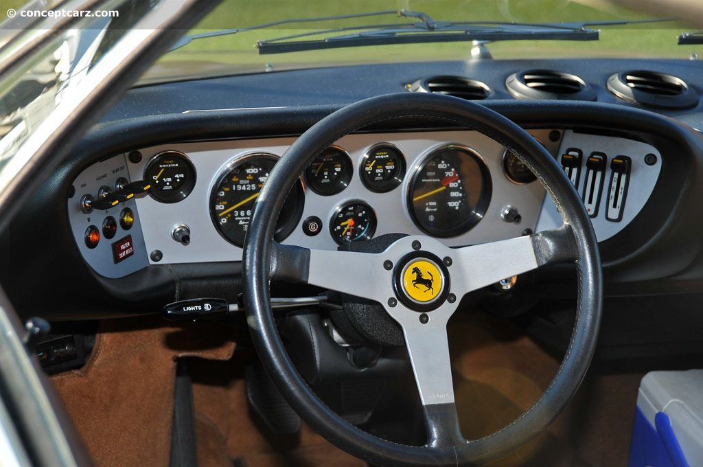 ferrari dino dash board ferrari pinterest ferrari car interiors and cars. Black Bedroom Furniture Sets. Home Design Ideas