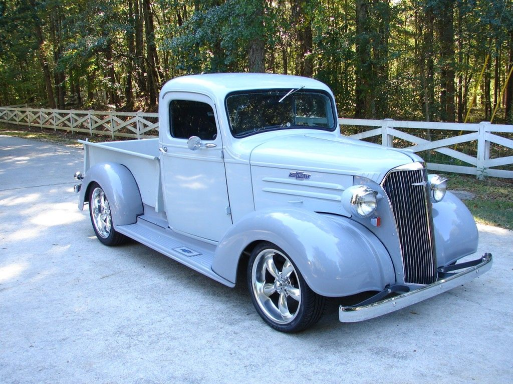 1937 Chevy Truck Great Color Carolina Blue Chevy Trucks