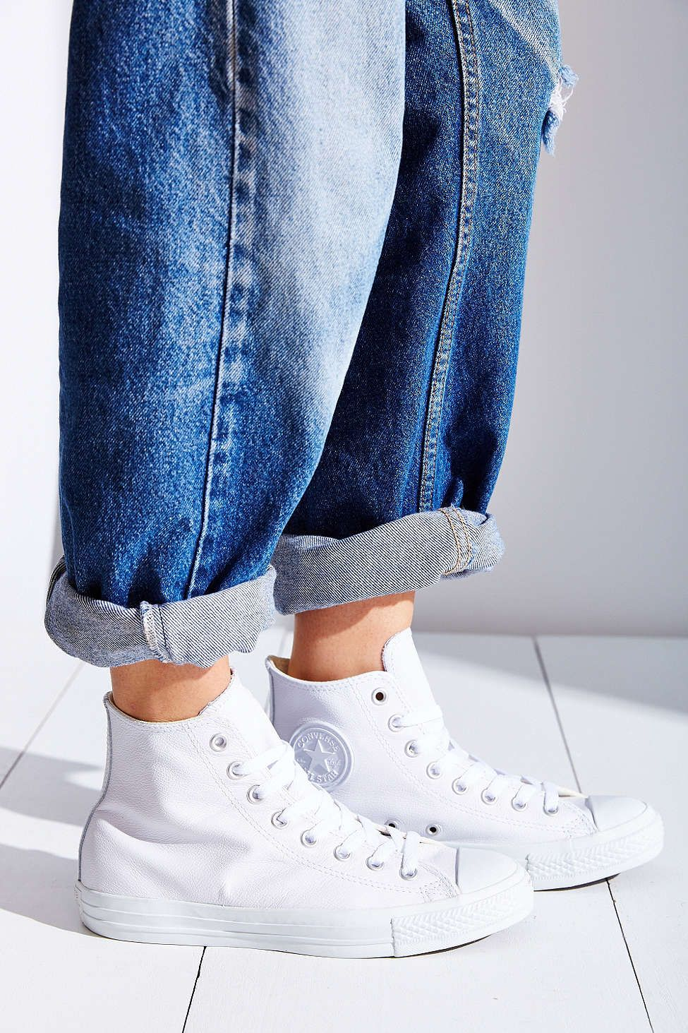 Converse chuck taylor all star leather hightop sneaker urban