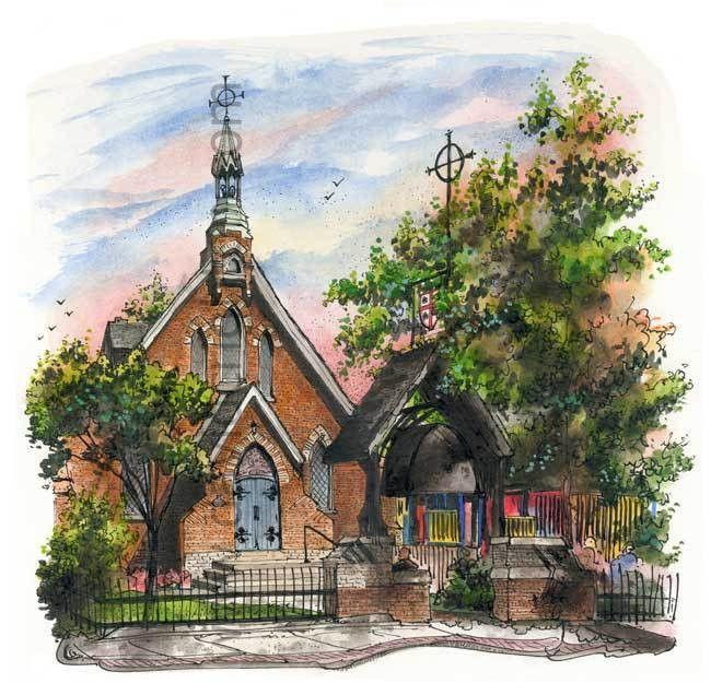 St Marks Church – David Crighton Art