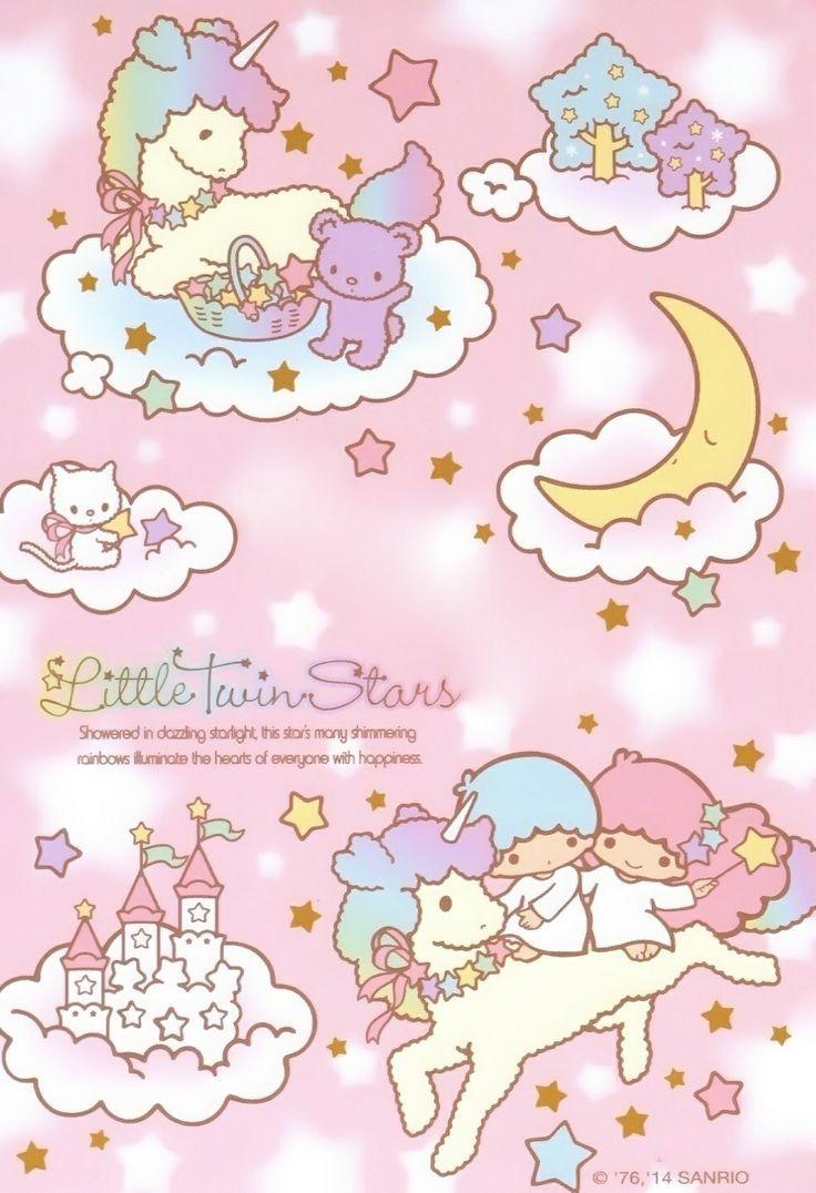 Sanrio Little Twin Stars Wallpaper キキララ イラスト リトル