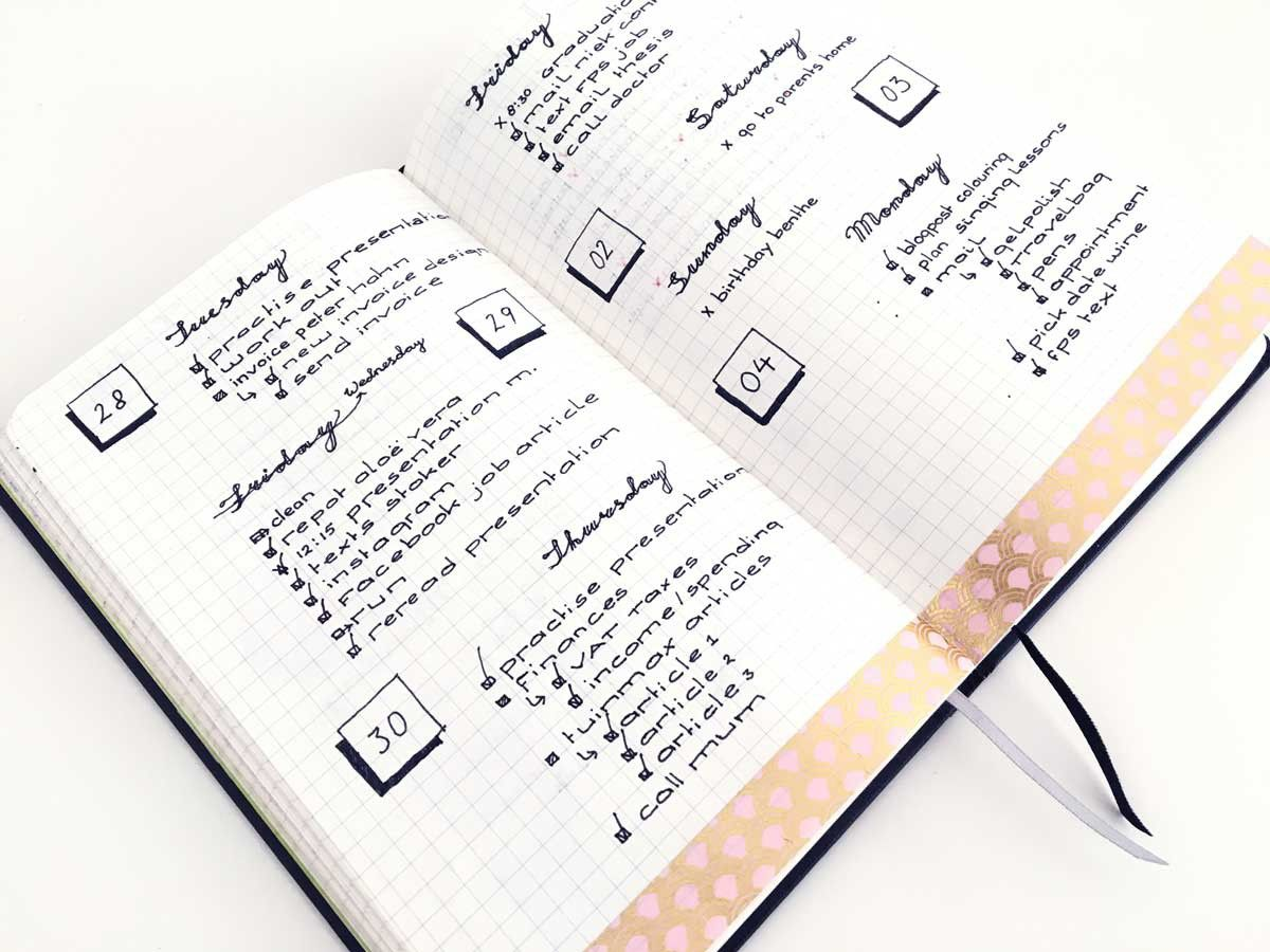 in the beginning of my bullet journal days i hated the fact that my daily pages weren t. Black Bedroom Furniture Sets. Home Design Ideas