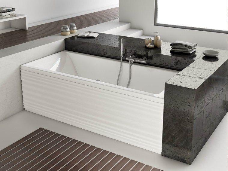 Vasca Da Bagno Dimensioni Standard : Moove vasca da bagno by jacuzzi europe design marco piva