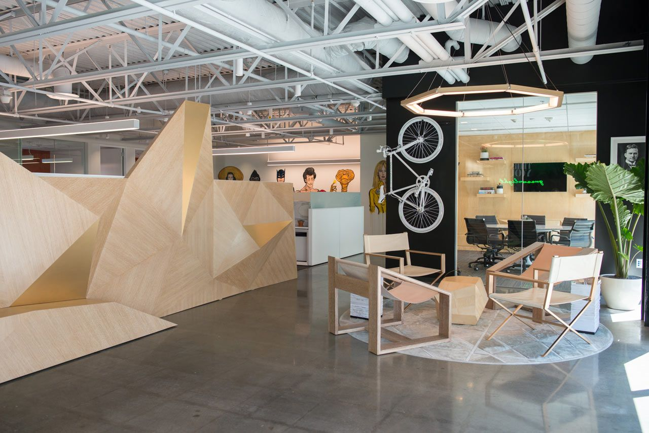 Studio Redesign Brings Movie Characters To Life Lobby Design