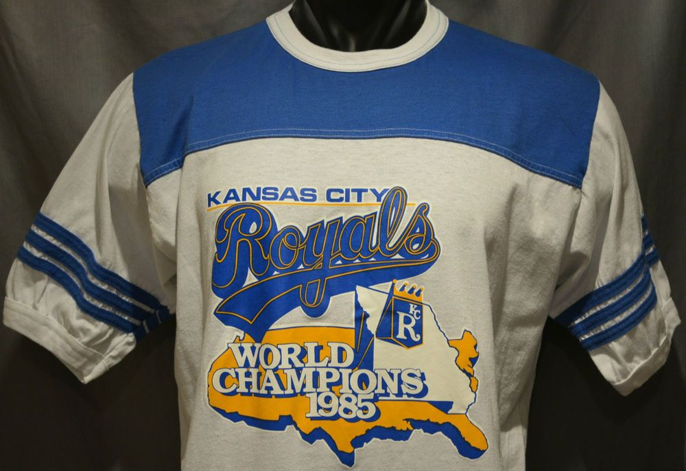 super popular ae066 1a9b6 Rare Vintage 1985 World Series Champions Kansas City Royals ...