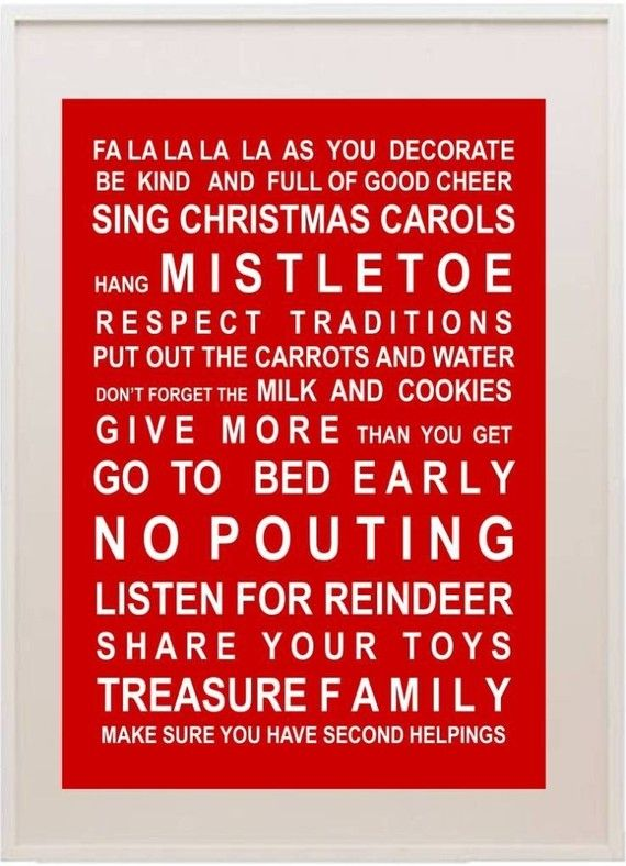 Print for the entry hall in Xmas.. or on handmade cards ...