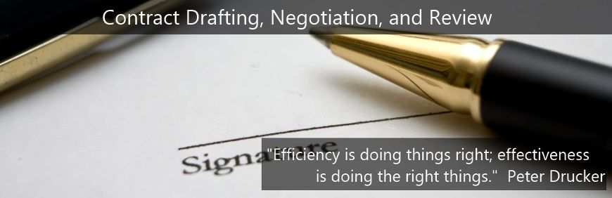 Contract Drafting and Review - Pathways Legal Group LLP