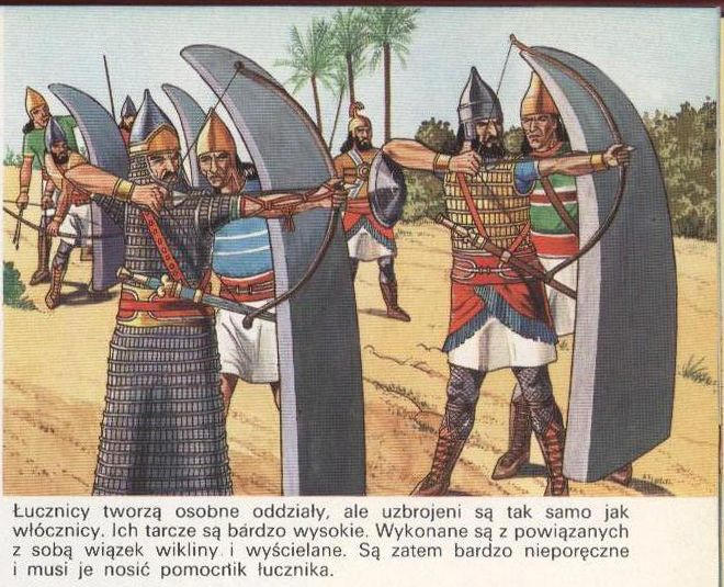 10 Things You Should Know About The Achaemenid Persian Empire: Assyarian Heavy Archers