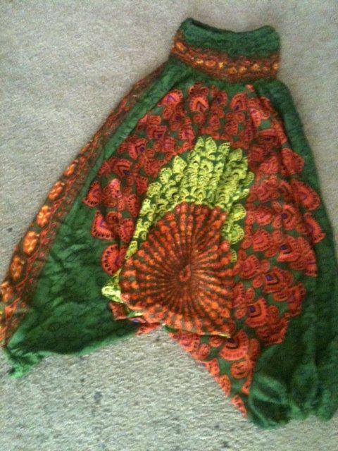 Harem Pants Black Yoga Pants Loose Pants Gypsy Pants by shama, $29.99