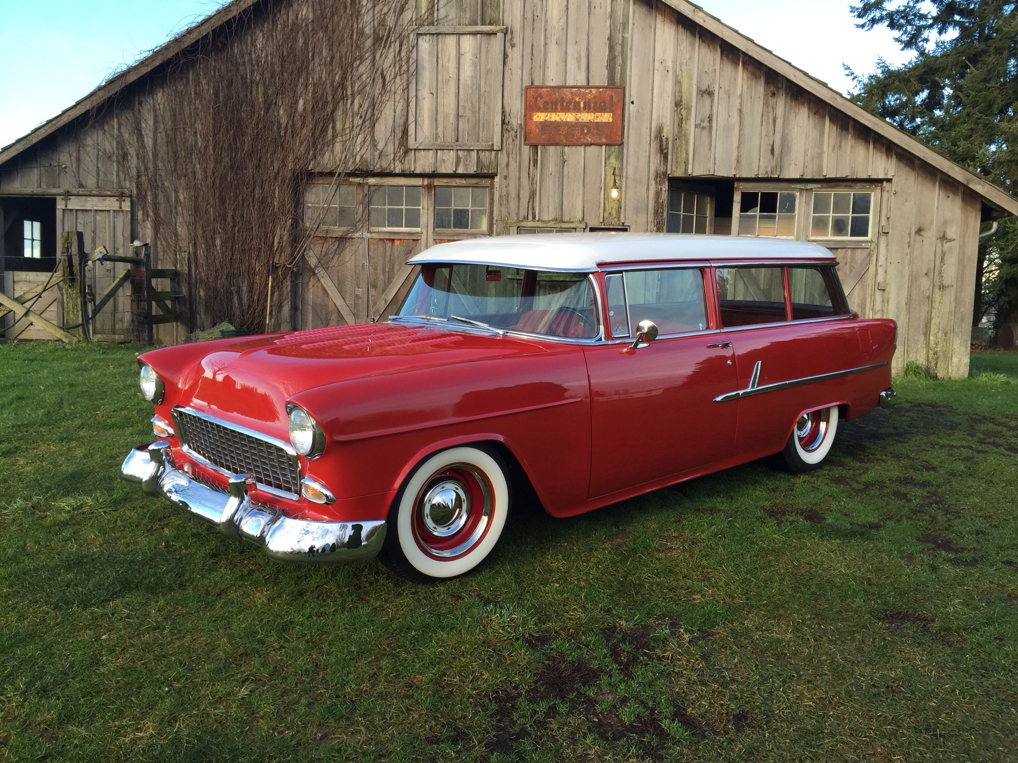 '55 Chevy Wagon 55 chevy, 1955 chevy, Classic cars