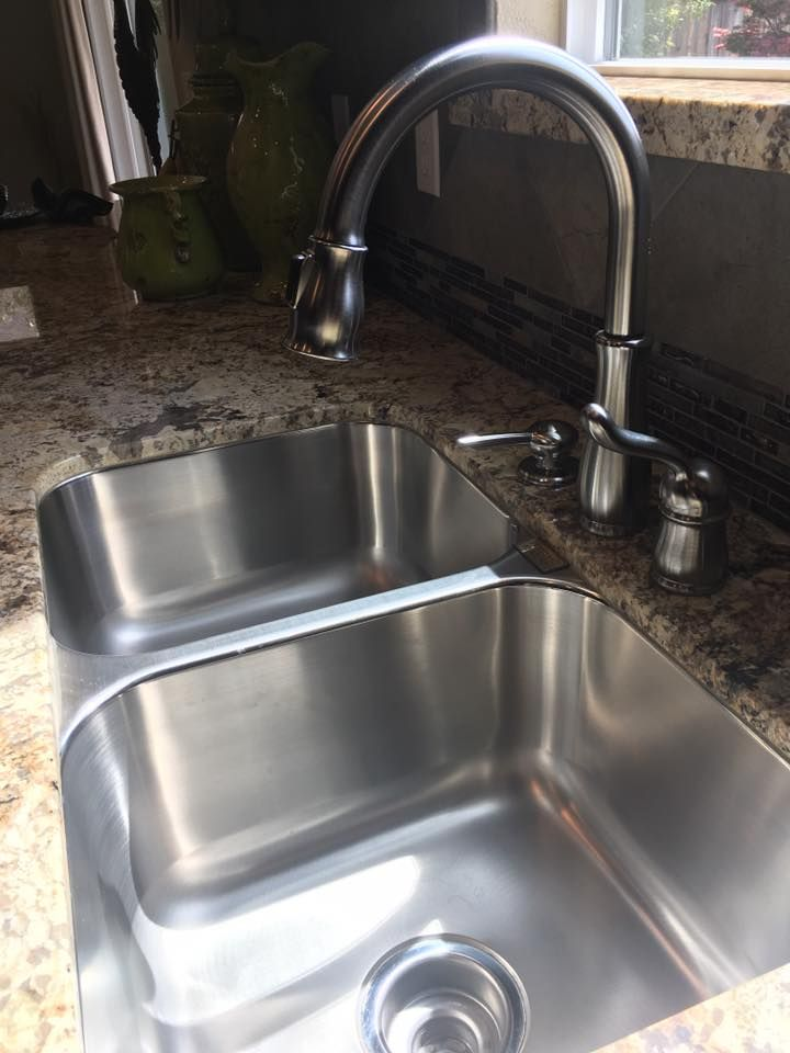 Standard: 11444 (Daytona Model) Home Sink. Stainless Steel