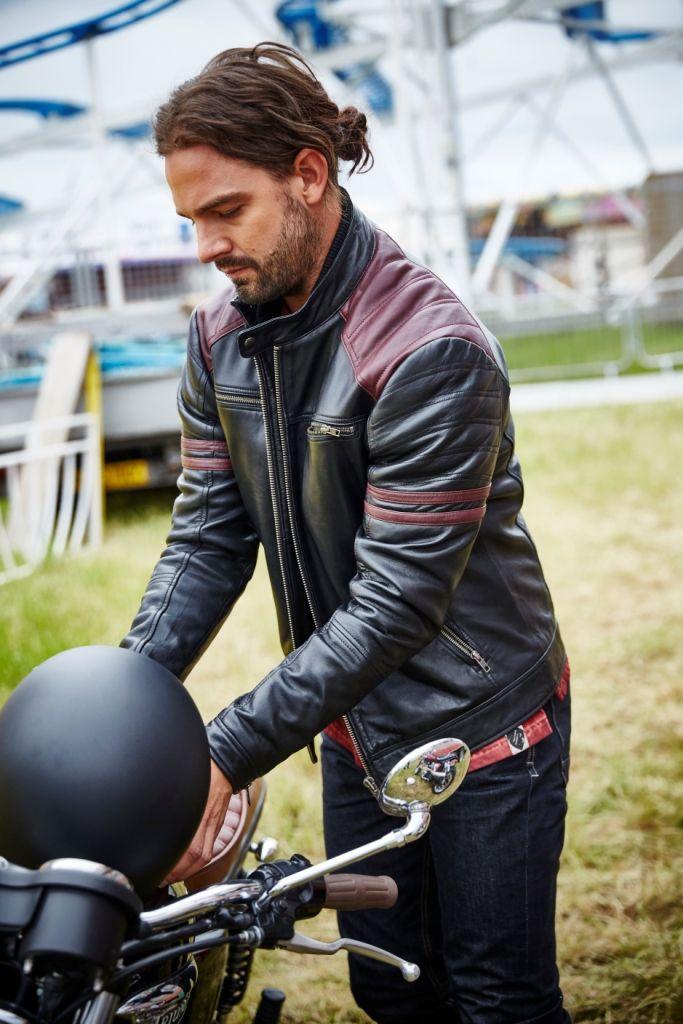 4fe1ccab7 Joe Browns Leather Burnout Biker Jacket   Joe's Idea of a Great ...