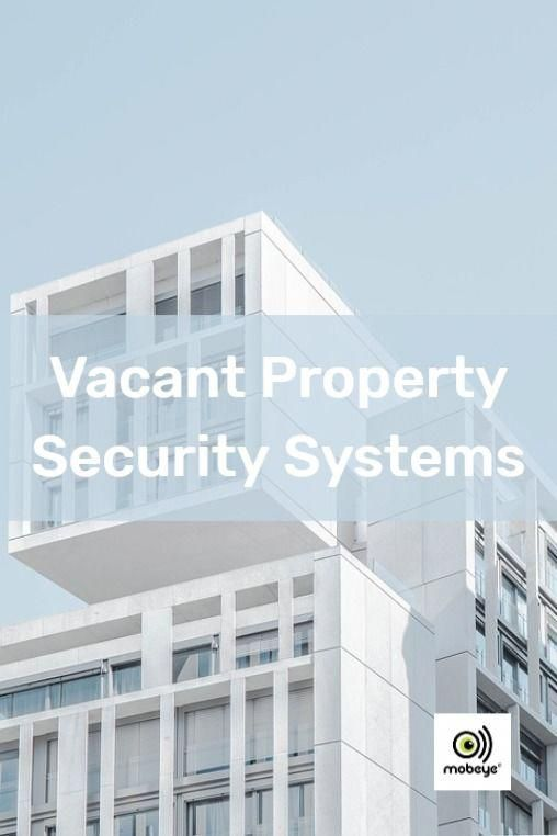 Many properties subject to breakins thefts and vandalism are usually void vacant or going through renovations to prepare them for sale or the next tenant Mobeye GSM alarm...