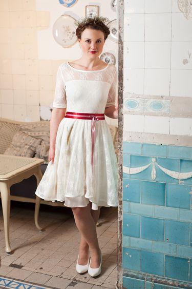 1392724025 898 | Kleid standesamt braut, Kleid hochzeit, Braut