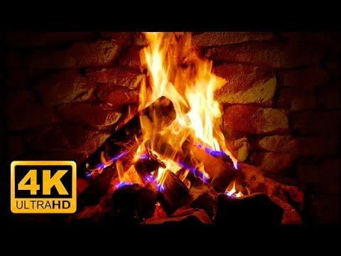 Relaxing Fireplace & The Best Instrumental Christmas Music