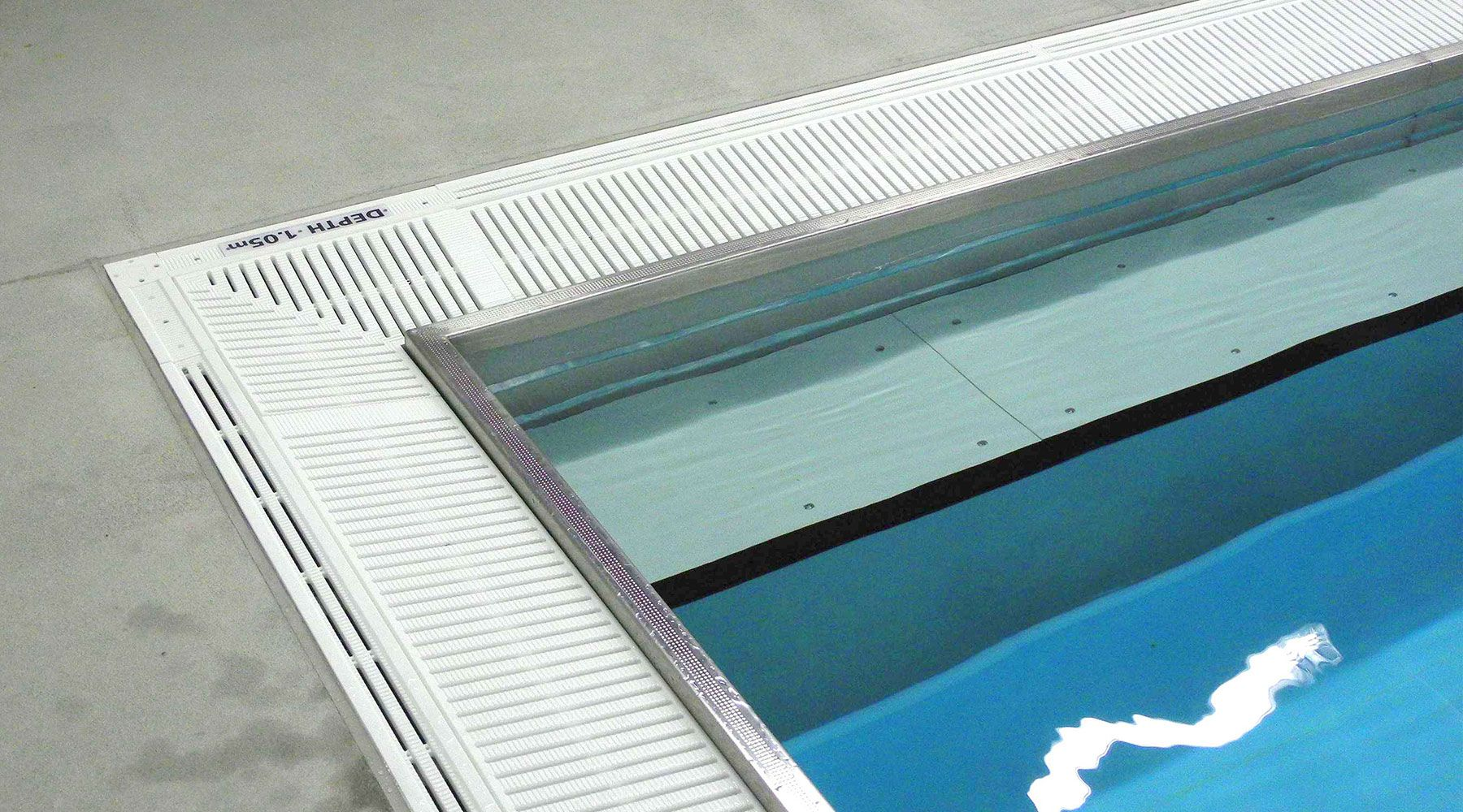 Stainless Steel Pool Gutters Natare Corporation Lap Pool Designs Pool Designs Pool