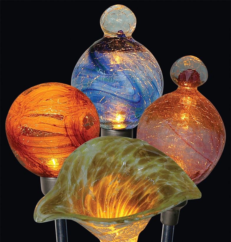 Firefly Original Solar Garden Art   Available In A Variety Of Shapes And  Colors, All