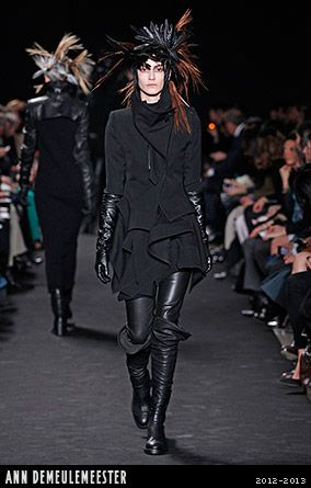Ann Demeulemeester, Collections 2012-2013