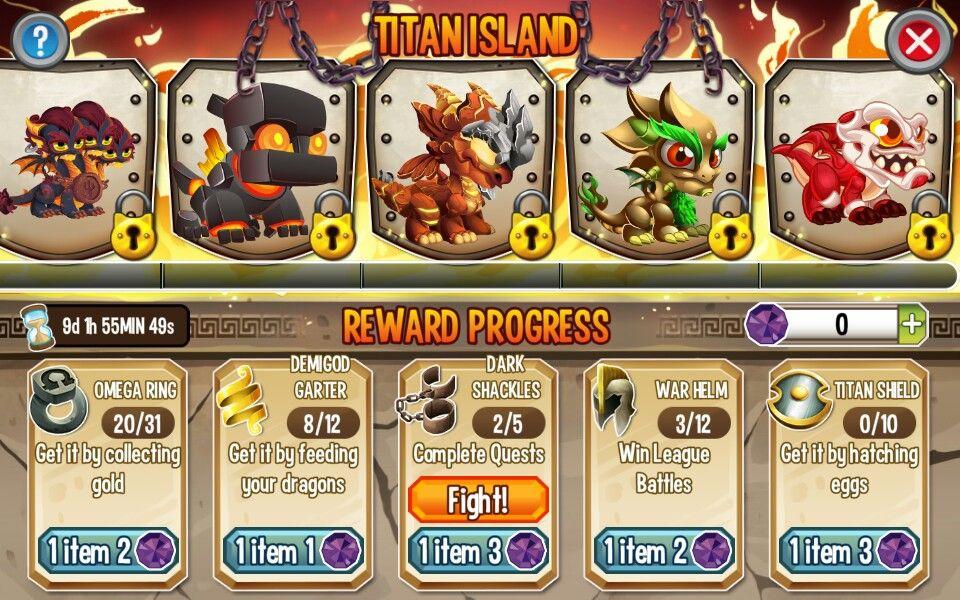 Titan Island Dragon City