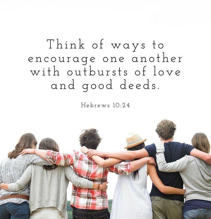 Hebrews 10 24 Inspirational Words
