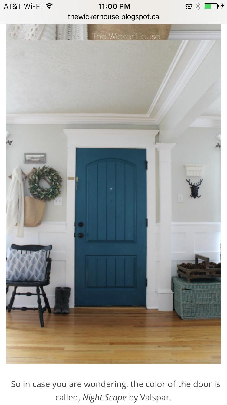 New Farm Front Door
