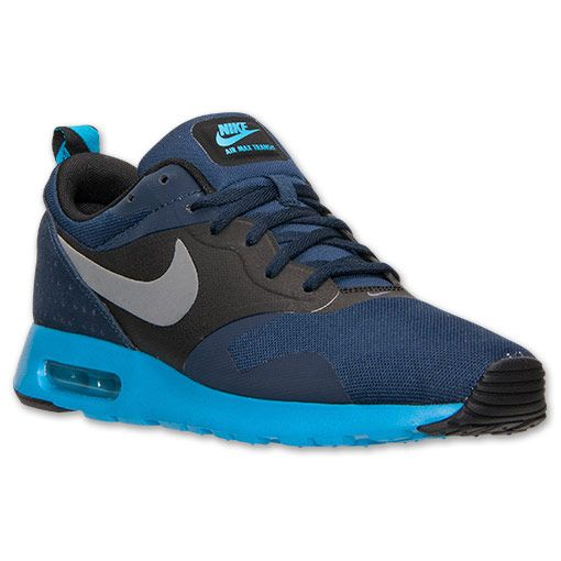 Nike Air Max Tavas Midnight Navy Cool Grey Obsidian 705149 400 Mens Running Shoes Sneakers 705149 400