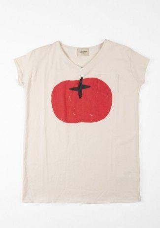 Dress S/S Tomato