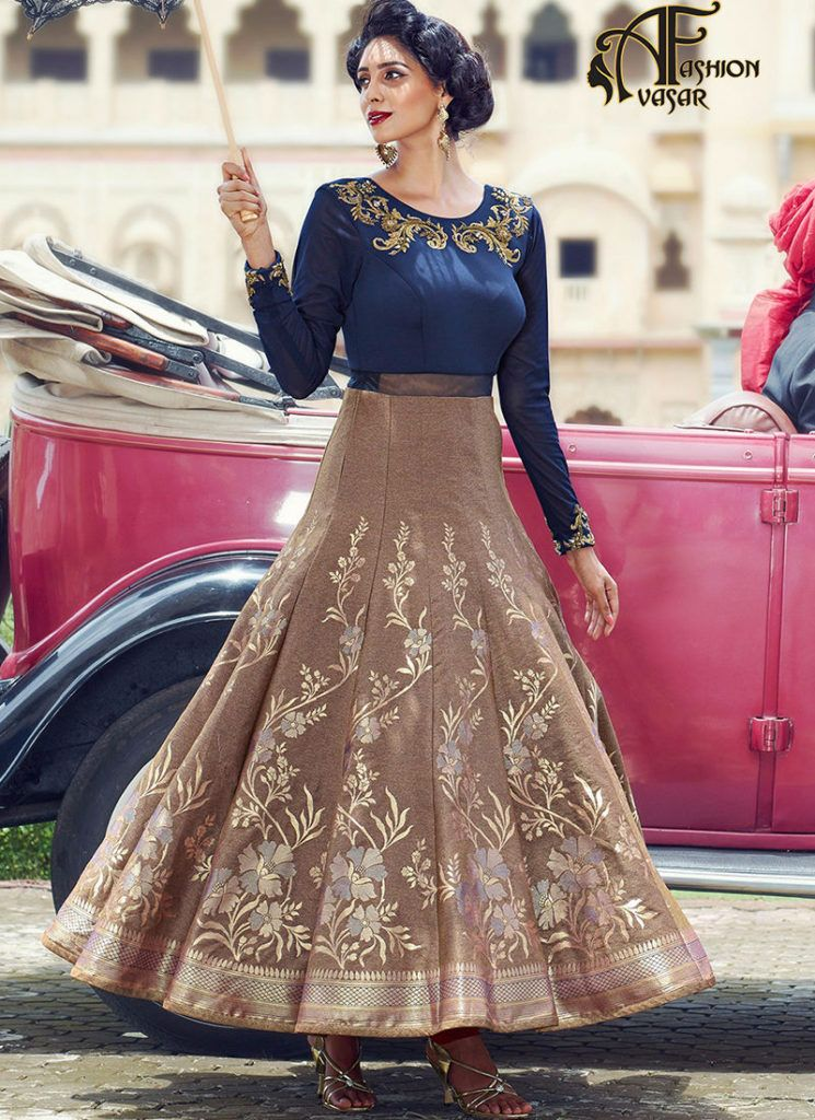 long gowns online shopping india – designer gowns for reception ...