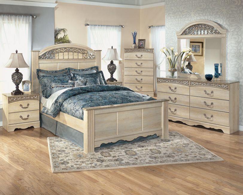 Light Wooden Bedroom Suite With Beautiful Design  Kimbrell's New Signature Design Bedroom Furniture Decorating Design