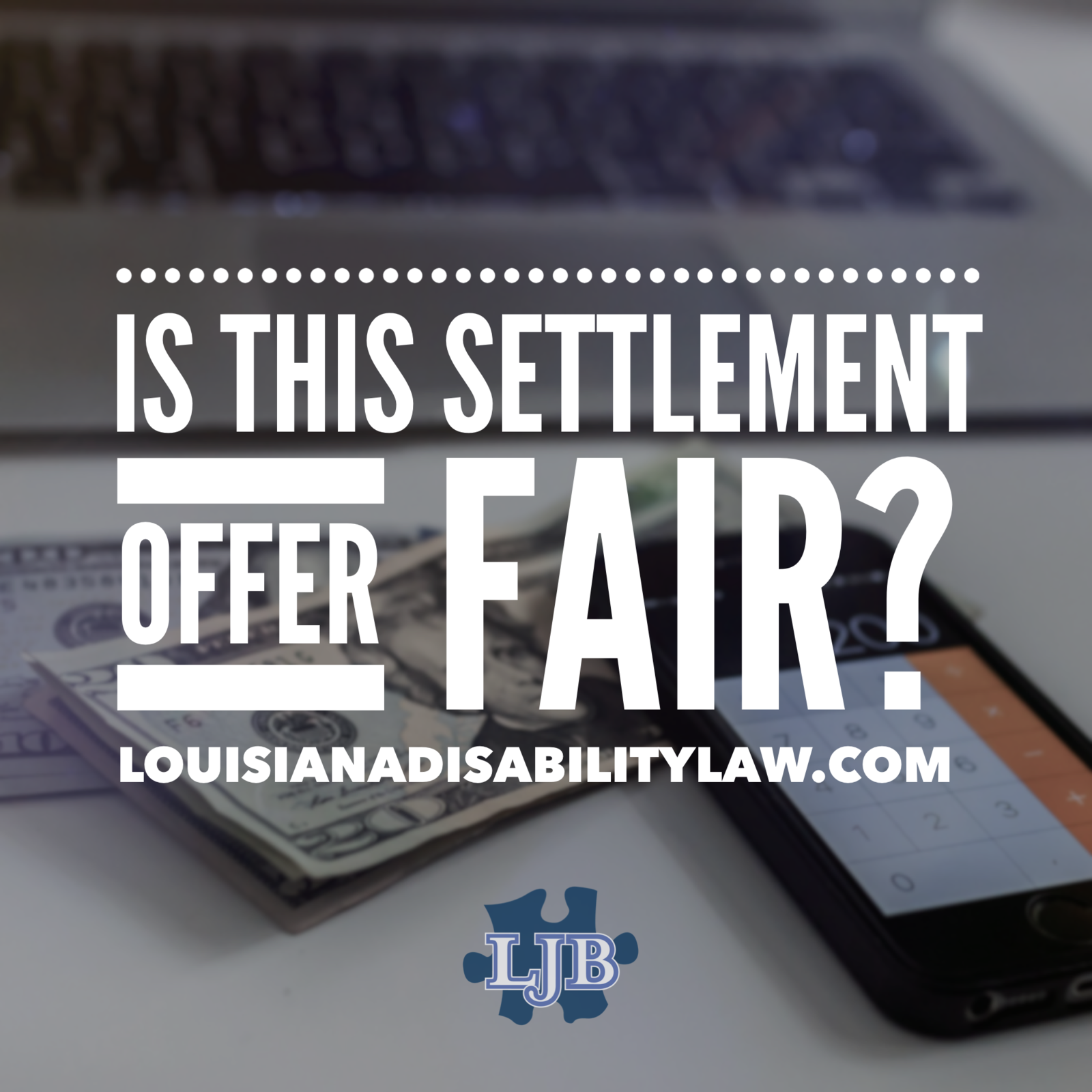 Is the settlement offer from the insurance company fair