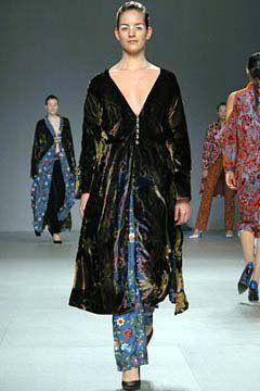 Silk Velvet Jacket + Embroidery Silk Trouser by Marta Fernandez