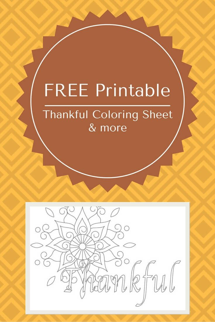 Free Printable Thanksgiving Coloring Pages | Pinterest