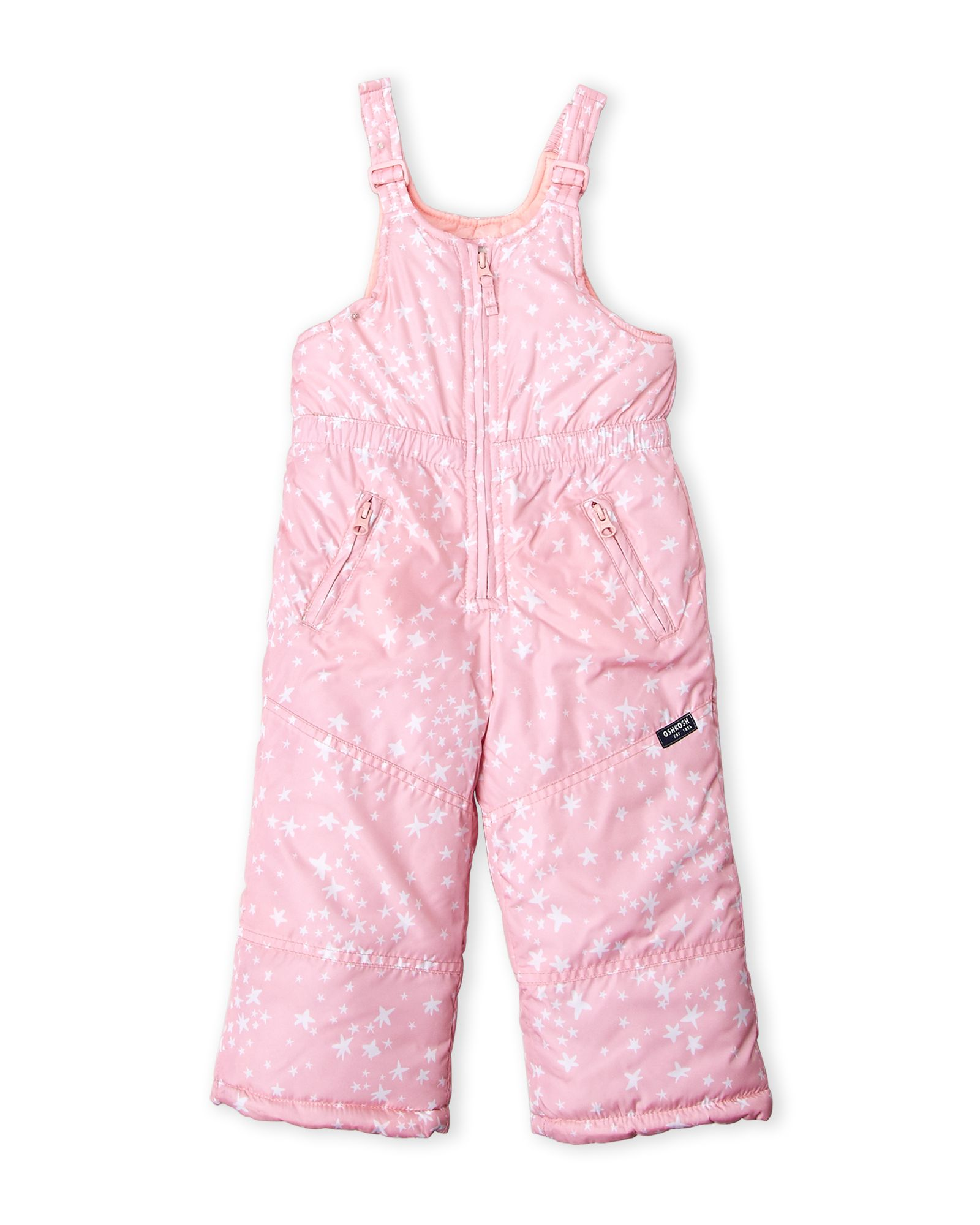 f4b2b8b72 Toddler Girls) Star Bib Snow Pants