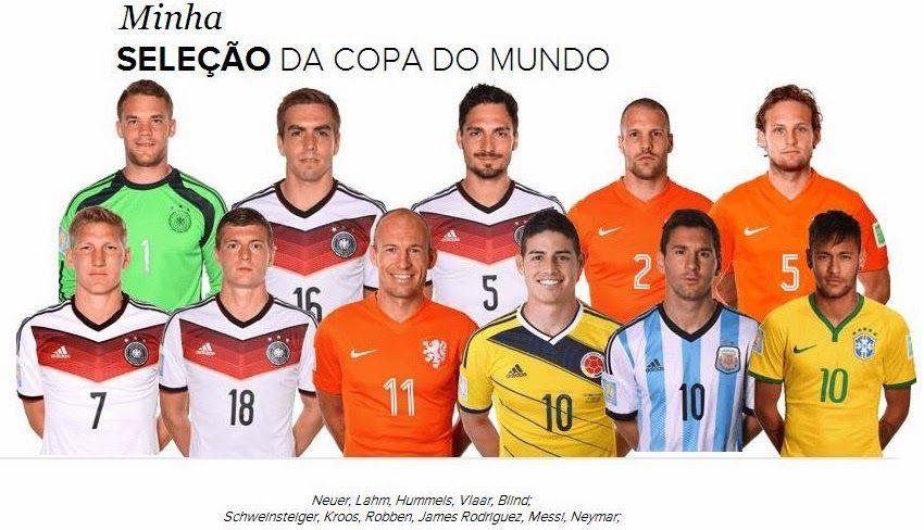 Vaiquemoli: Minha Seleção da Copa 2014