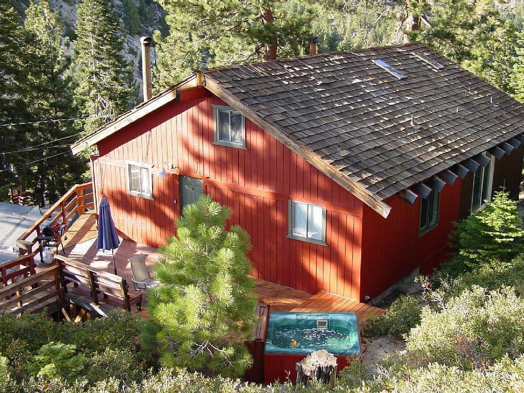 Cabin vacation rental in south lake tahoe from