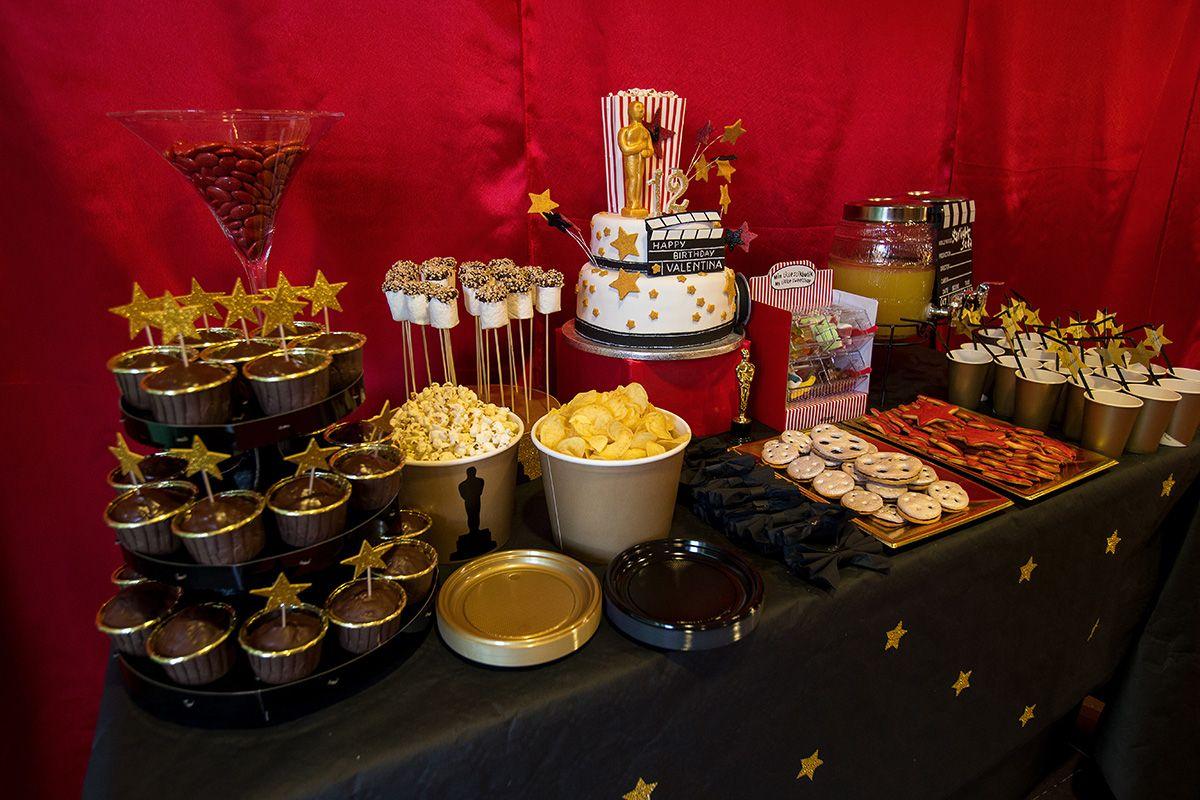 Tovaglia Nera E Oro party lab (con immagini)   hollywood, festa di laurea