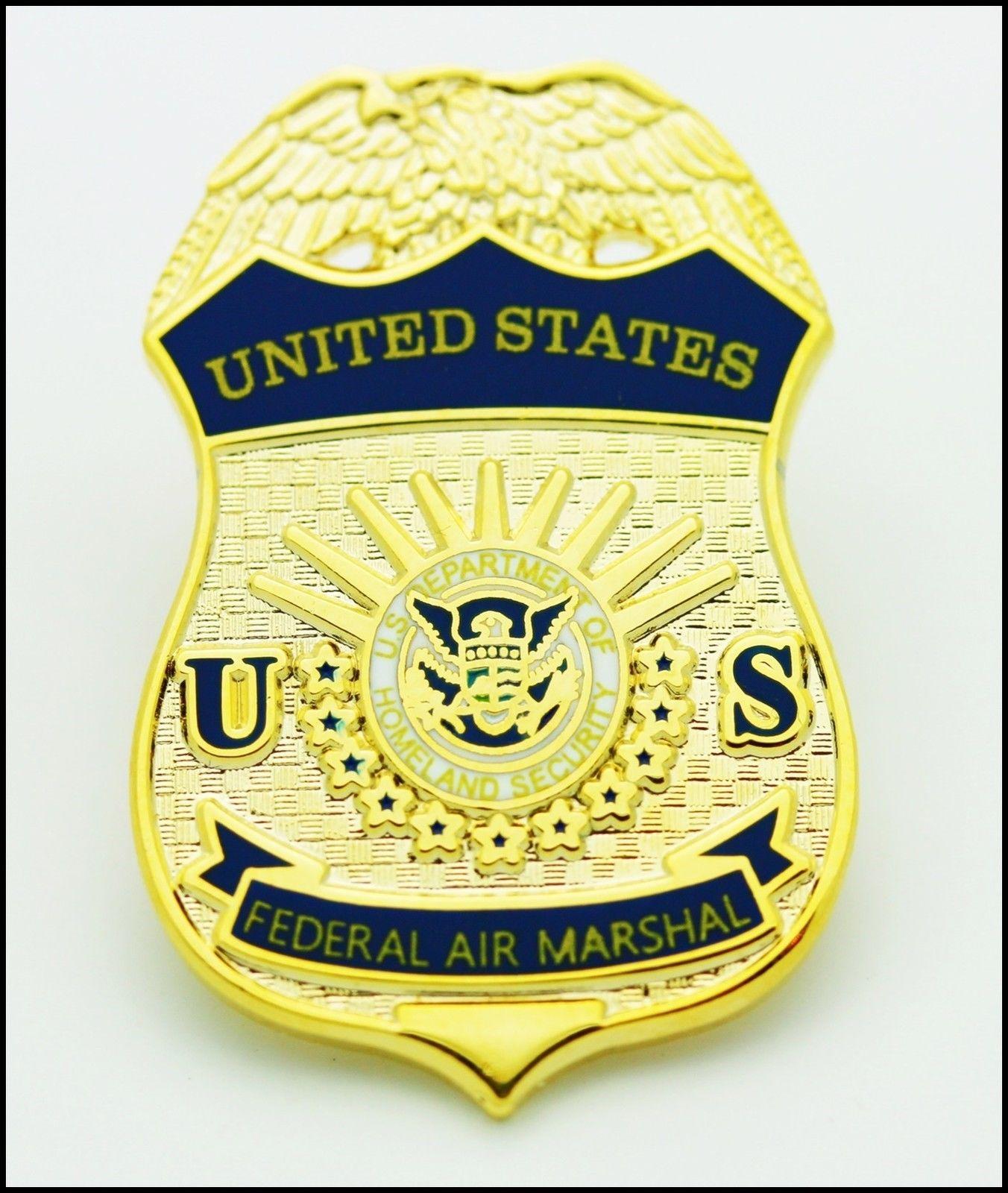 8 95 Federal Air Marshal Mini Badge Lapel Pins Ebay Fashion Air Marshal Badge Ebay