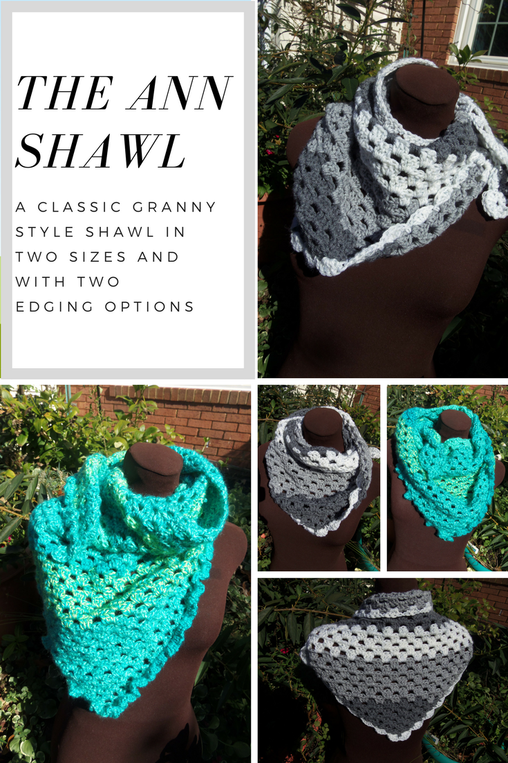 A classic granny style triangle shawlscarf in an easy stitch a classic granny style triangle shawlscarf in an easy stitch with two sizes bankloansurffo Choice Image